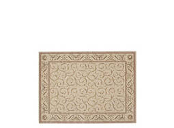 "Somerset 3'6"" x 5'6"" Ivory Botanical Area Rug"