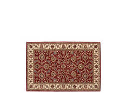 India House 5' x 8' Brick Area Rug