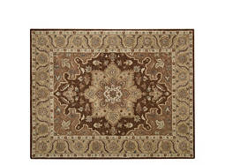 "India House 8' x 10'6"" Chocolate Area Rug"