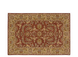"India House 8' x 10'6"" Rust Area Rug"