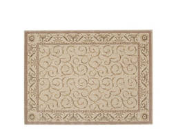 "Somerset 7'9"" x 10'10"" Ivory Botanical Area Rug"