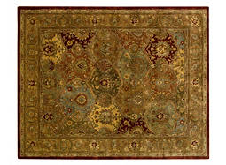 "Jaipur 9'6"" x 13'6"" Multicolored Area Rug"
