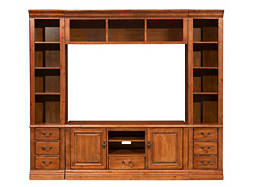 "Sierra 4-pc. Wall Unit w/ 60"" TV Console"