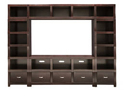 "Lakewood 4-pc. Wall Unit w/ 60"" TV Console"