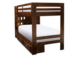 Tommi II Twin-Over-Twin Step-Storage Bunk Bed