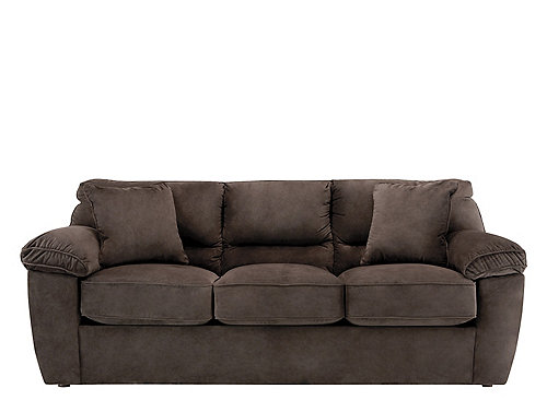 Rockport Microfiber Queen Sleeper Sofa Sleeper Sofas
