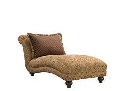 Cindy Crawford Valencia Armless Chaise Lounge