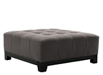 Cindy Crawford Home Metropolis Microfiber Cocktail Ottoman