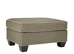 Foresthill Microfiber Ottoman