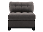 Cindy Crawford Home Metropolis Microfiber Armless Chair