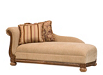 Bailer Chenille Chaise Lounge