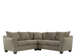 Foresthill 3-pc. Microfiber Sectional Sofa