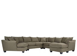 Foresthill 5-pc. Microfiber Sectional Sofa