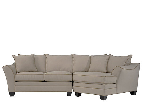 Foresthill 2 Pc Microfiber Sectional Sofa Sectional