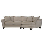 Foresthill 2-pc. Microfiber Sectional Sofa