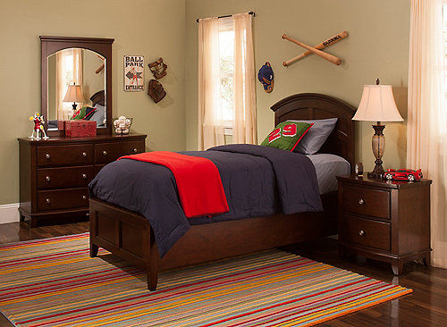 kylie 4 pc full platform bedroom set w storage bed