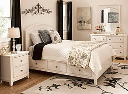 Kylie 4-pc. Full Platform Bedroom Set w/ 1-sd.  Storage Bed