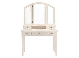 Kylie 2-pc. Vanity Desk and Tri-View Mirror Hutch