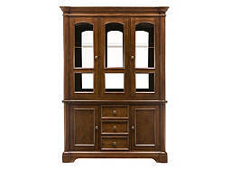 Jessica 2-pc. China Cabinet w/ Lighting