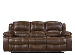 Bryant Leather Power-Reclining Sofa