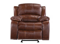 Bryant Leather Glider Recliner