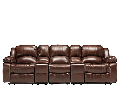 Bryant Ii 5 Pc Leather Reclining Sectional Sofa
