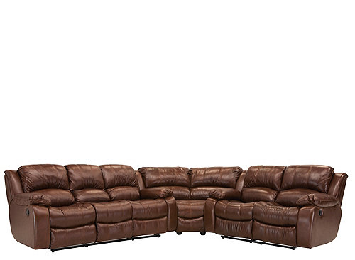 Bryant Ii 4 Pc Leather Power Reclining Sectional Sofa