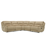 Cindy Crawford Mackenzie 5-pc. Microfiber Reclining Sectional Sofa