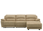 Cindy Crawford Mackenzie 3-pc. Microfiber Power Reclining Sectional Sofa
