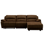 Cindy Crawford Mackenzie 3-pc. Microfiber Reclining Sectional Sofa