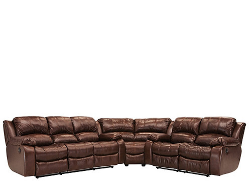 Bryant Ii 4 Pc Leather Power Reclining Sectional Sofa Sectional Sofas Raymour And Flanigan