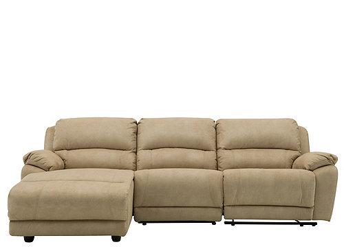 Cindy Crawford Mackenzie 3 Pc Reclining Sectional Sofa
