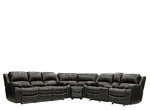 Bryant ii 5 pc leather reclining sectional sofa for 5 pc sectional sofas