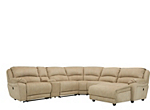 Cindy Crawford Mackenzie 6-pc. Microfiber Reclining Sectional Sofa