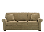 kathy ireland Home Madelyne Chenille Queen Sleeper Sofa