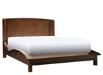Caspian Queen Platform-Look Bed