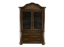 Florence 2-pc. China Cabinet w/ Lighting