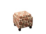 Molly Flip-Top Storage Ottoman w/ Pillows