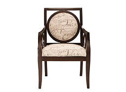 Script Accent Chair
