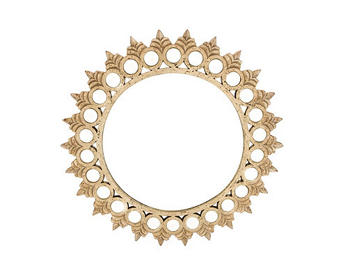 Multicircle Round Wall Mirror