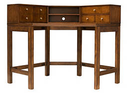 Carlton 2-pc. Corner Desk and Hutch