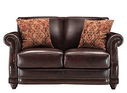 Alexander Leather Loveseat