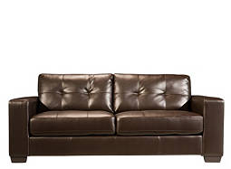Gateway Bonded-Leather Sofa