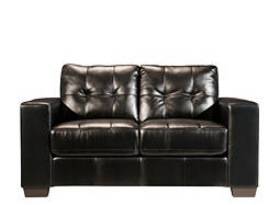 Gateway Bonded-Leather Loveseat