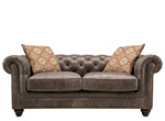 Saddler Leather Loveseat