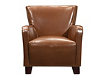 Phoebe Leather Accent Chair