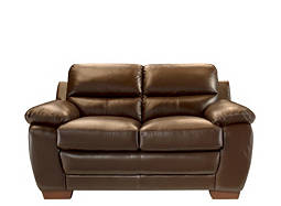 Trinity Leather Loveseat