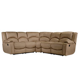 kathy ireland Home Harper 3-pc. Microfiber Reclining Sectional Sofa