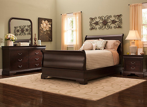 Does Raymour And Flanigan Sell Adjustable Beds : Charleston pc queen bedroom set