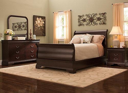 Charleston 4 Pc Queen Bedroom Set